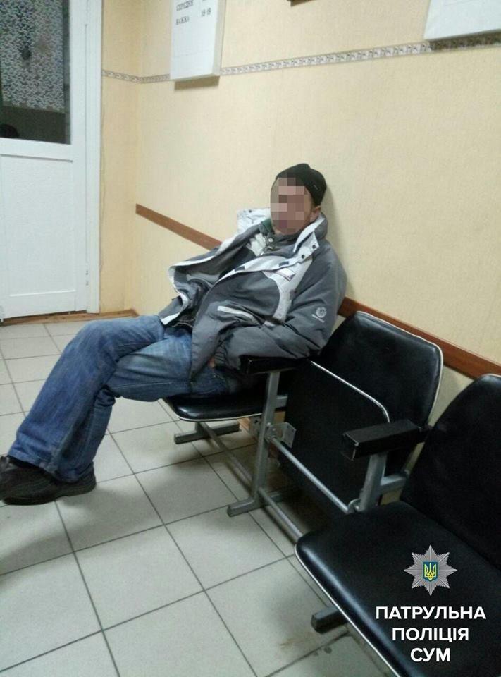 В Сумах пьяный водитель нарушил ПДД (ФОТО), фото-3
