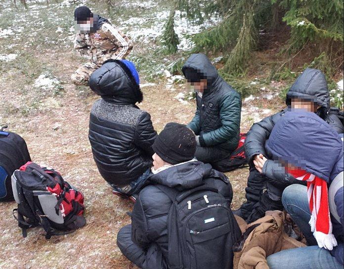 Дело организаторов крупного канала нелегальной миграции через Гродненскую область передано прокурору, фото-1