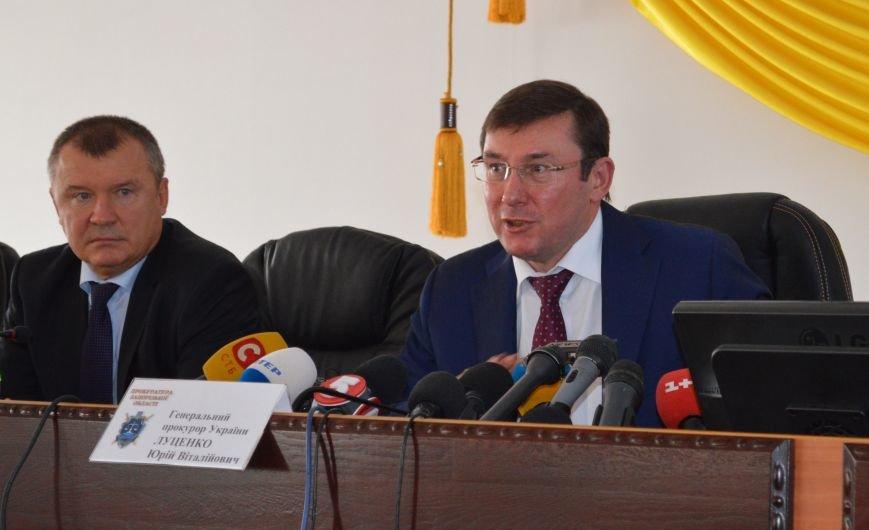 Как в Запорожье нового прокурора представляли, - ФОТОРЕПОРТАЖ, фото-12