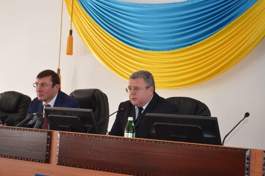 Как в Запорожье нового прокурора представляли, - ФОТОРЕПОРТАЖ, фото-7