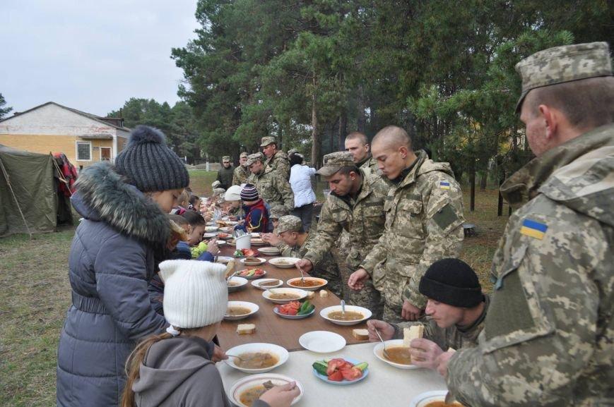 Херсонские «Маленькі кухарі» накормили военнослужащих (фоторепортаж + видео), фото-2