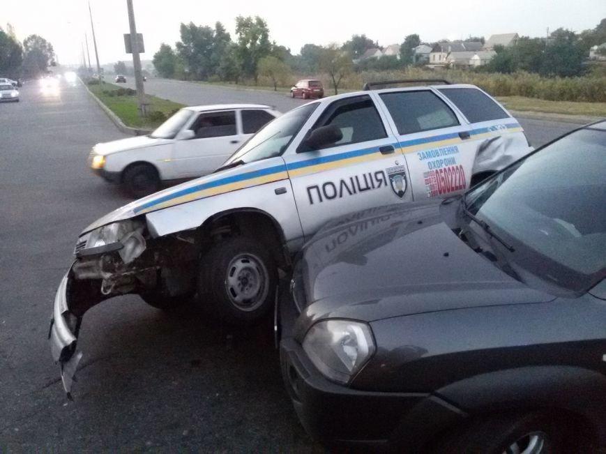 В Запорожье ищут свидетелей тройного ДТП с участием машины ГСО, - ФОТО, фото-1
