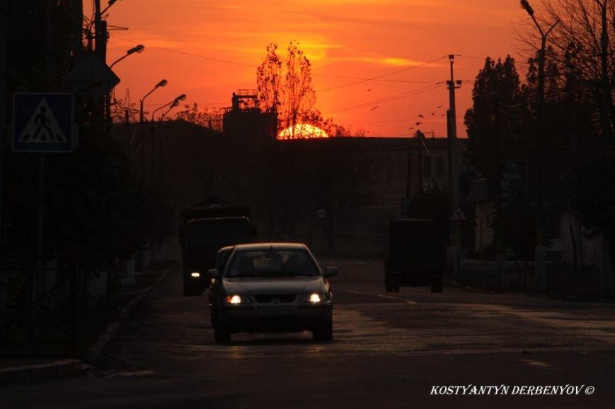 Закат Мирноград