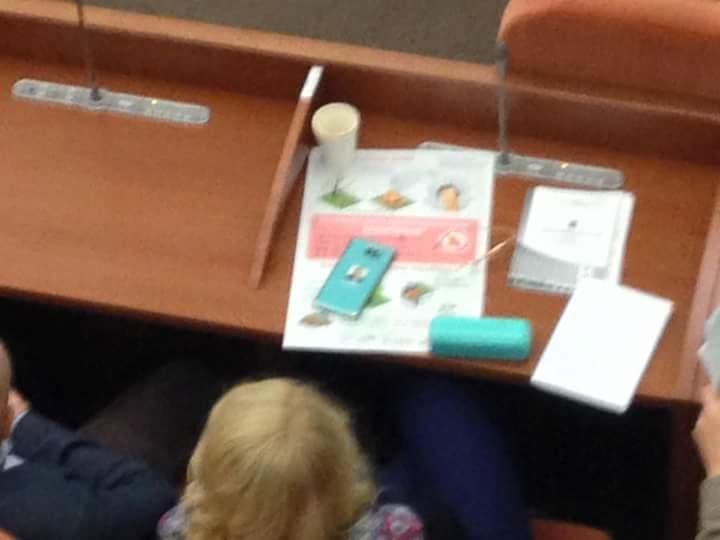 Епифанцева украсила свой телефон портретом Филатова (ФОТО), фото-1