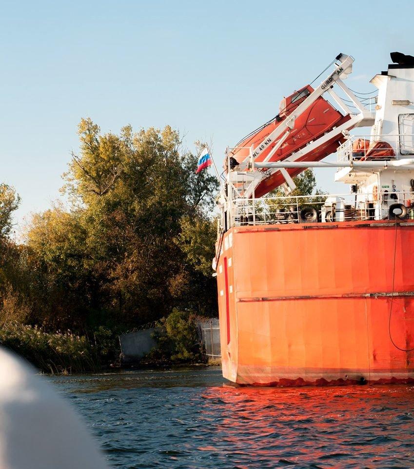 В Херсон зашло российское судно (фото), фото-2
