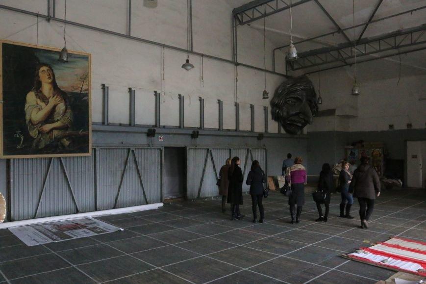 Черниговский драмтеатр приоткрыл закулисье, фото-4