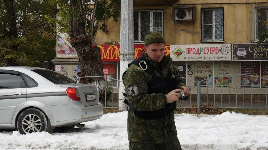"В Мариуполе на пр. Нахимова выпал ""снег"" (ФОТОРЕПОРТАЖ, ВИДЕО), фото-9"