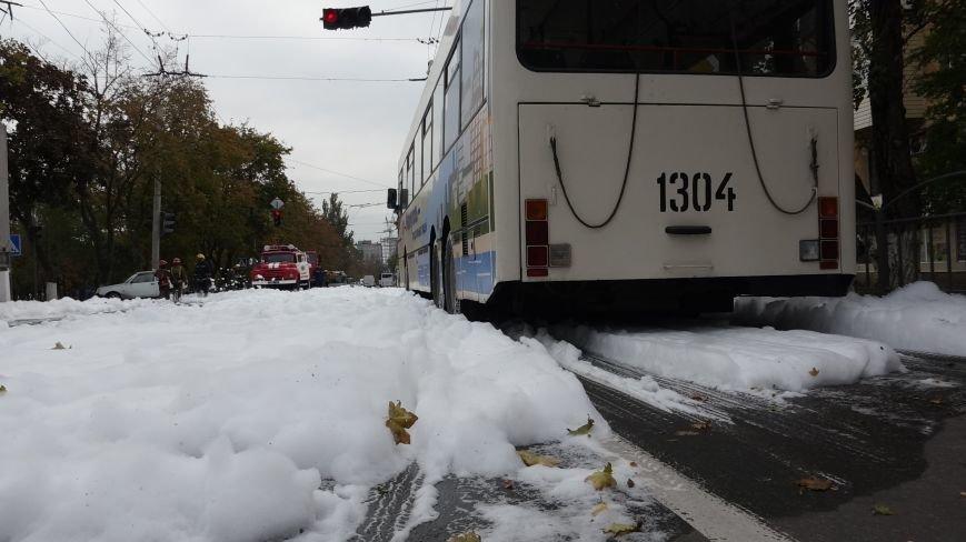 "В Мариуполе на пр. Нахимова выпал ""снег"" (ФОТОРЕПОРТАЖ, ВИДЕО), фото-13"