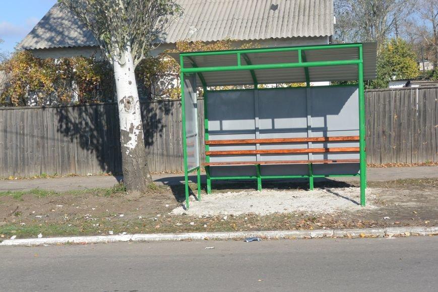 В Енакиево  появятся новые остановки, фото-3