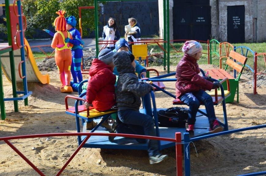У детей Енакиево появилось ещё одно место для игр, фото-6