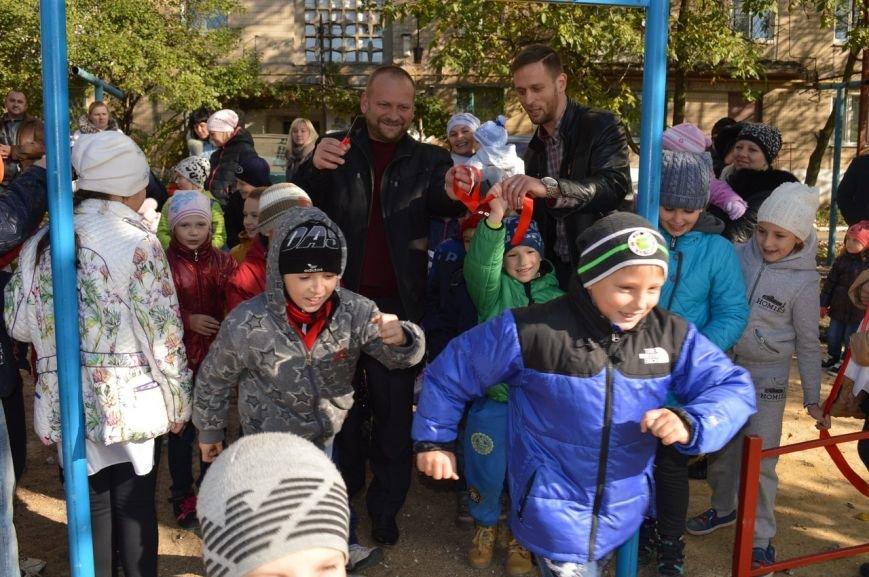 У детей Енакиево появилось ещё одно место для игр, фото-3