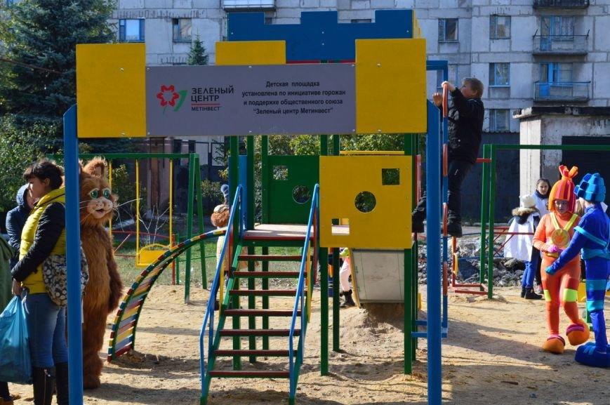 У детей Енакиево появилось ещё одно место для игр, фото-1