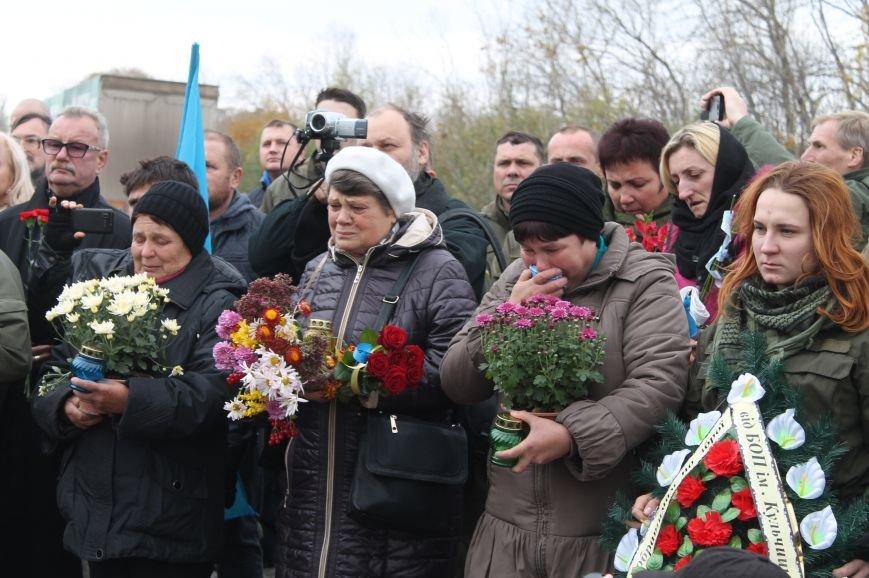 Вблизи Бахмута установили памятник погибшим в ДТП бойцам батальона имени Кульчицкого, фото-8