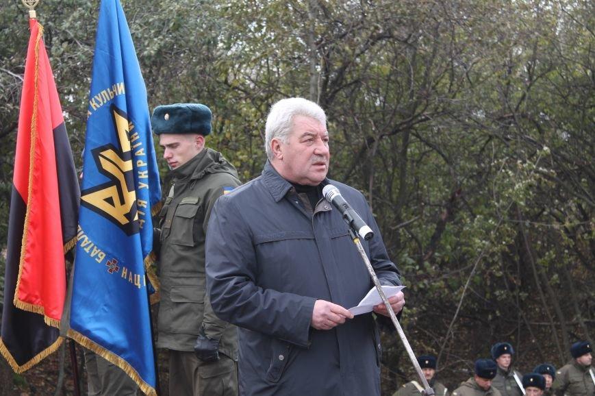Вблизи Бахмута установили памятник погибшим в ДТП бойцам батальона имени Кульчицкого, фото-7