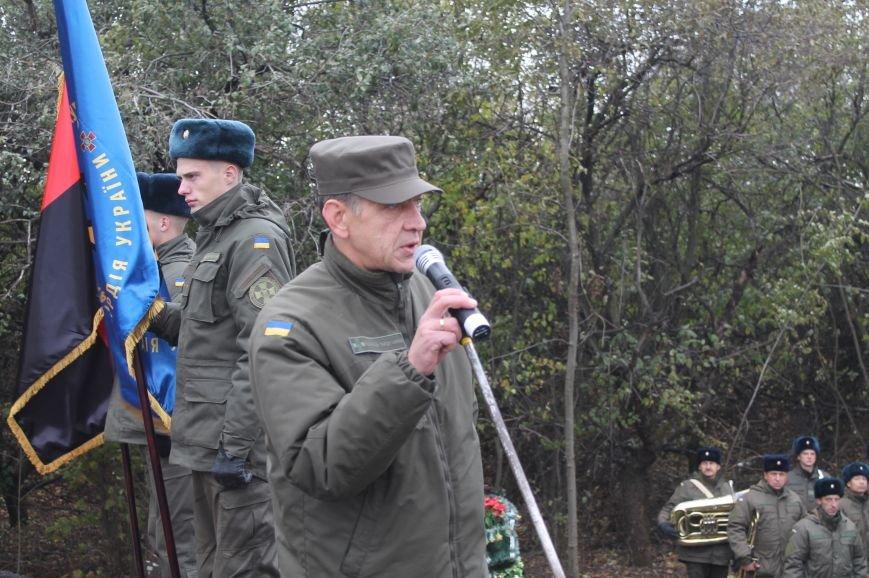 Вблизи Бахмута установили памятник погибшим в ДТП бойцам батальона имени Кульчицкого, фото-3