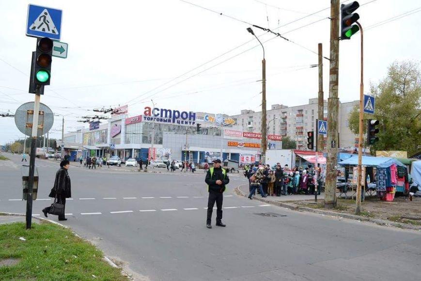 Флешмоб северодонецких школьников против халатных водителей (фото), фото-2