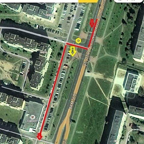 В Гродно на ул. О.Соломовой водитель сбил девушку и уехал - пострадавшая ищет очевидцев, фото-1