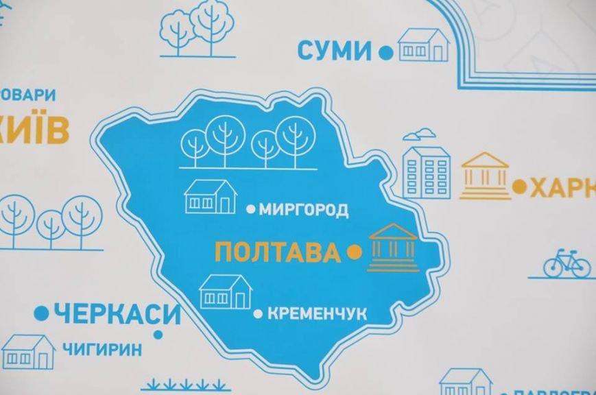 УАЛ-мапа Полтавщини