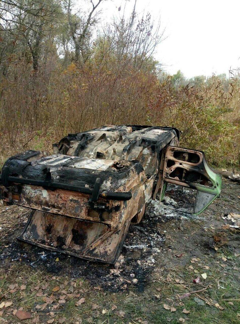 В Днепре сожгли авто, которое находилось в розыске (ФОТО), фото-1