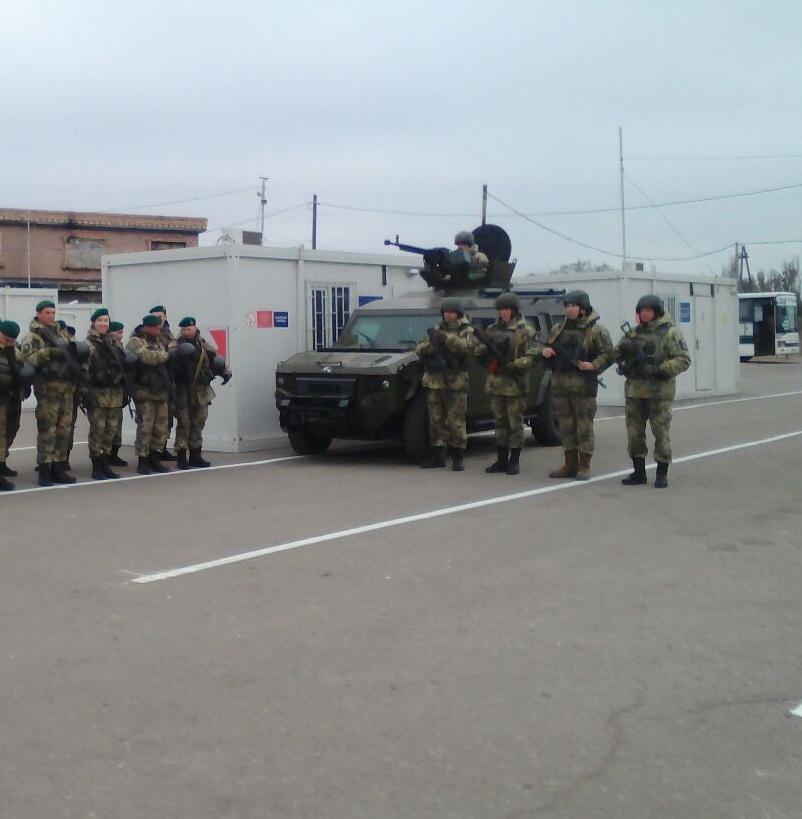 ВДонецкой области открылся новый КПВВ