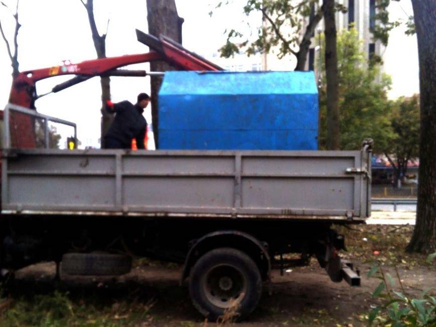 У Тернополі демонтують кіоски, власники яких не встановлені (фото), фото-2