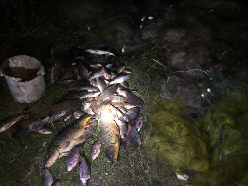 На Тернопільщині з водойми було знято близько 3-ох кілометрів браконьєрських сіток (фото), фото-2