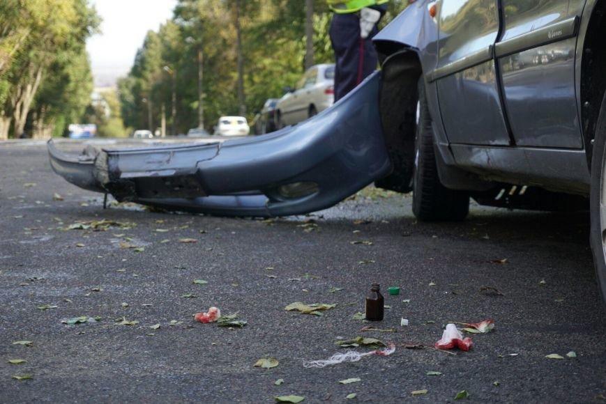 ДТП в Каменском: Daewoo Lanos столкнулся с внедорожником Lexus, фото-7