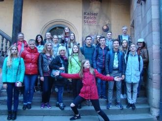 Міжнародна співпраця з німецькою гімназією учнів Новоград-Волинської спеціалізованої школи №4, фото-1