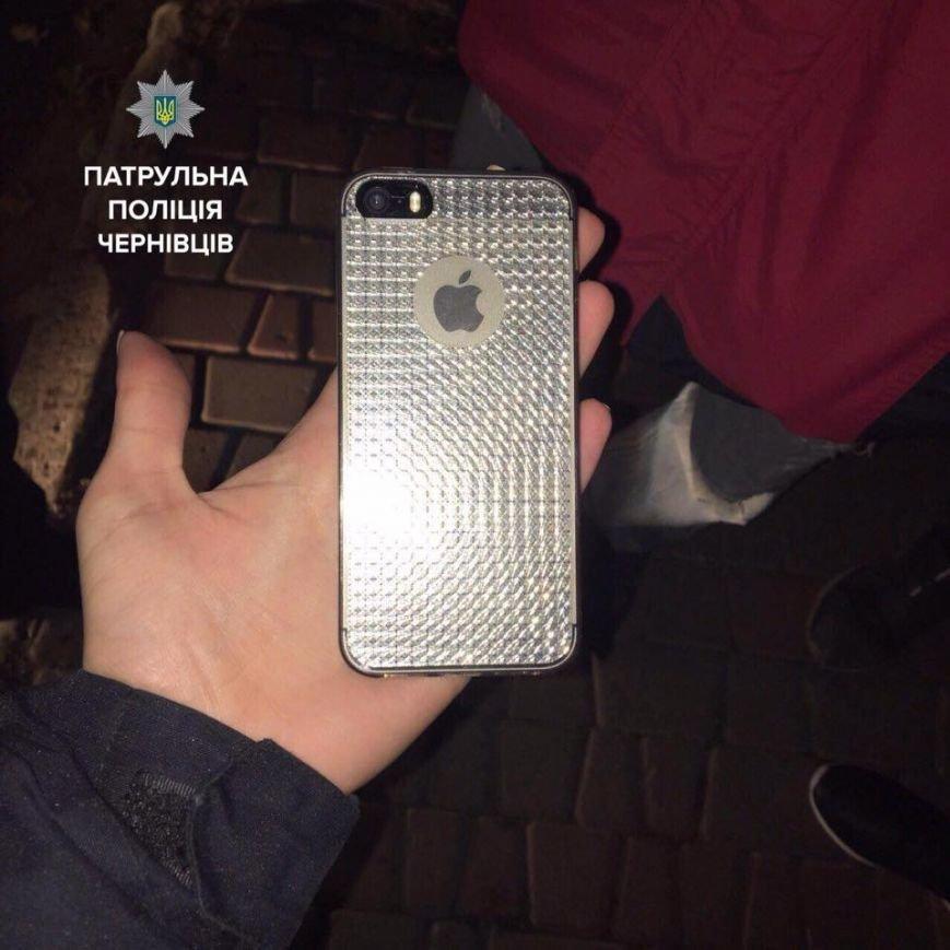 Патрульні допомогли буковинці знайти загублений iPhone (ФОТО), фото-1