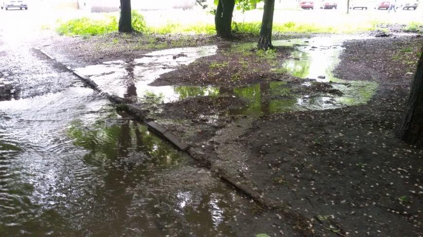 """Ливнёвые """"реки"""" на добропольских улицах: что делать? (ФОТО, ВИДЕО), фото-3"""