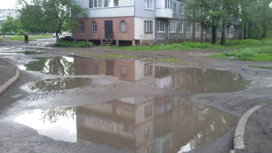 """Ливнёвые """"реки"""" на добропольских улицах: что делать? (ФОТО, ВИДЕО), фото-2"""