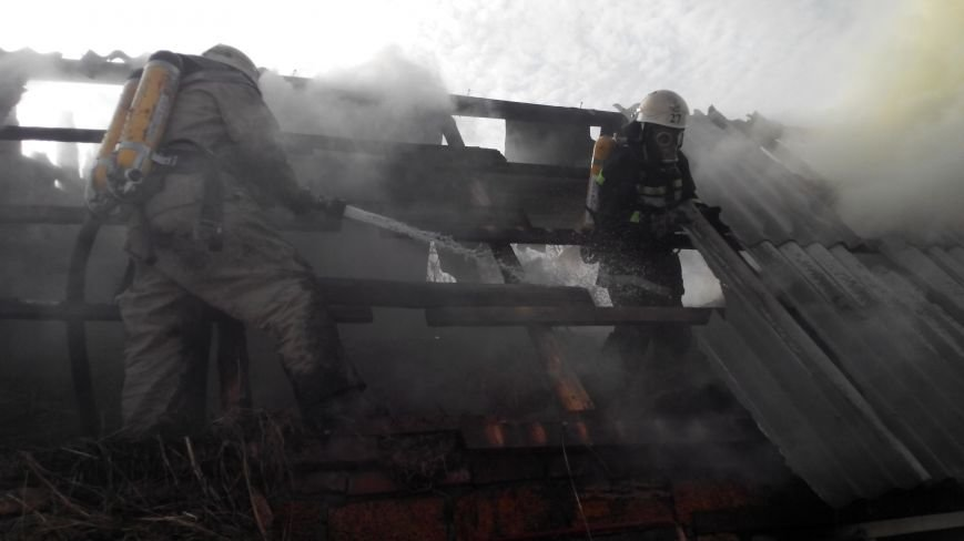 В Новгородке горела летняя кухня (ФОТО), фото-3