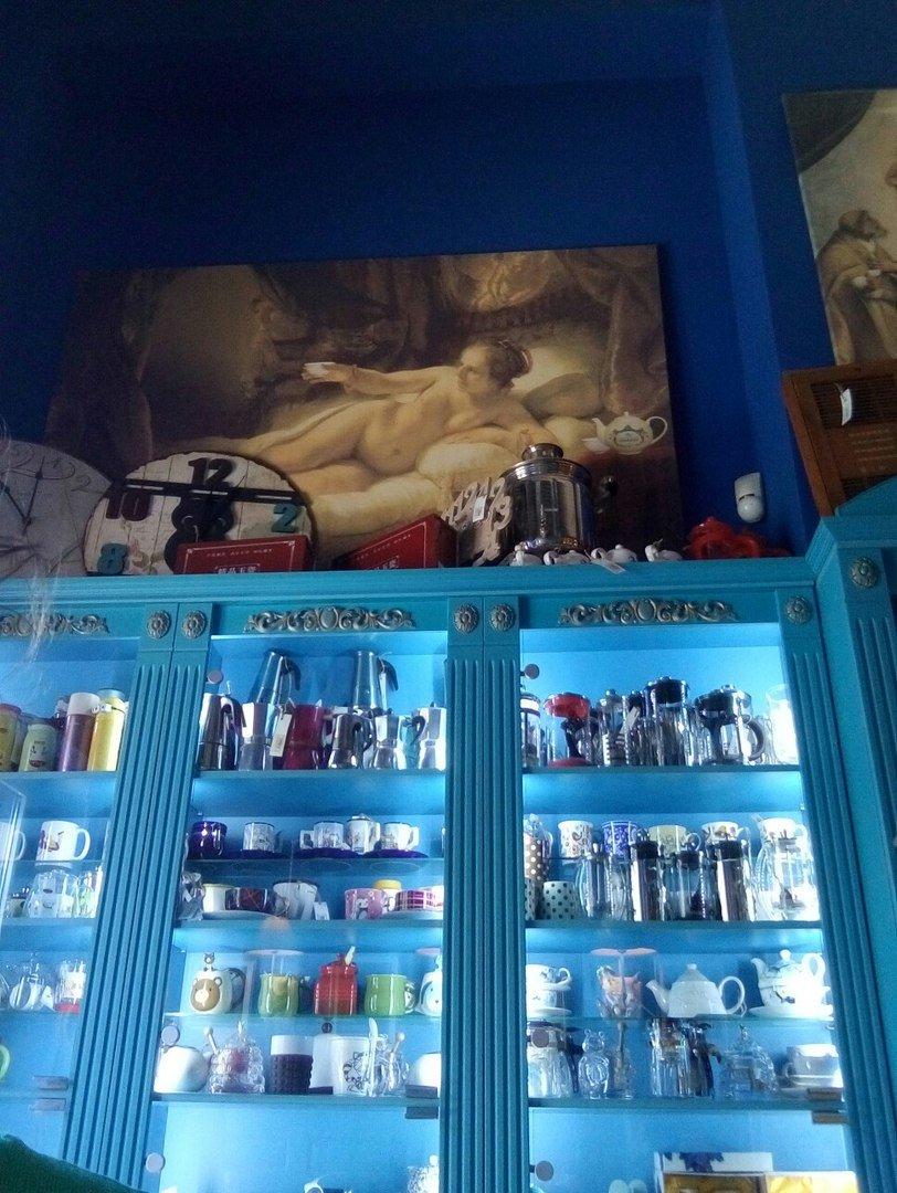 Кофейни и чайные Днепра: Tea House - светильники-носороги, огромный ассортимент чаёв и высокие цены (ФОТО), фото-2