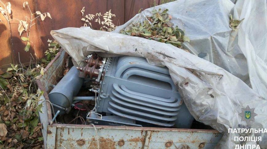 В Днепре украденное авто спрятали под одеялом (ФОТО), фото-1