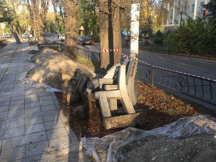 В Симферополе начали реконструировать бульвар Франко (ФОТОФАКТ), фото-5