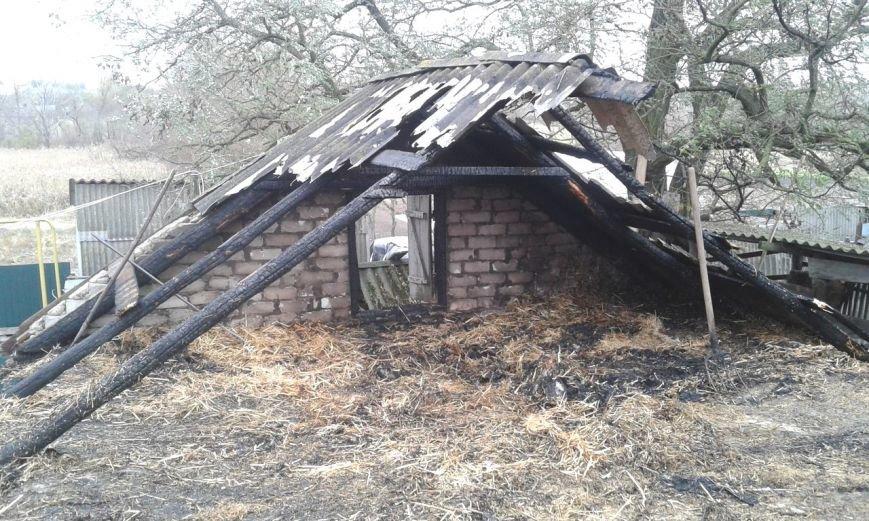 Из-за нарушения правил пожарной безопасности на Кировоградщине горела летняя кухня, фото-1