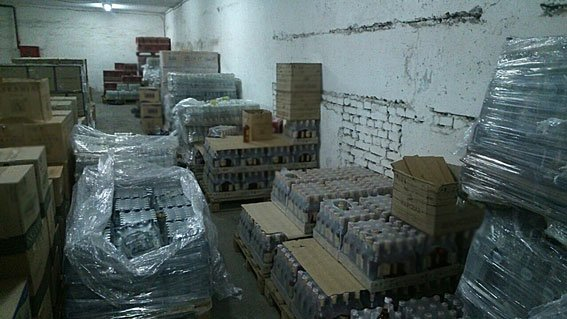 На Днепропетровщине изъяли фальсифицированную водку на 30 млн грн (ФОТО), фото-1