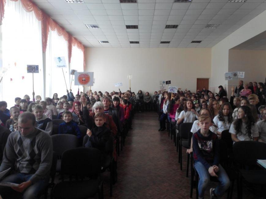 В Бахмутской школе №5 подвели итоги Спартакиады, фото-3