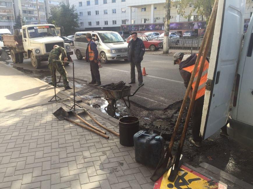 """В Симферополе начали делать дорогу возле супермаркета """"Ассорти"""" (ФОТОФАКТ), фото-1"""
