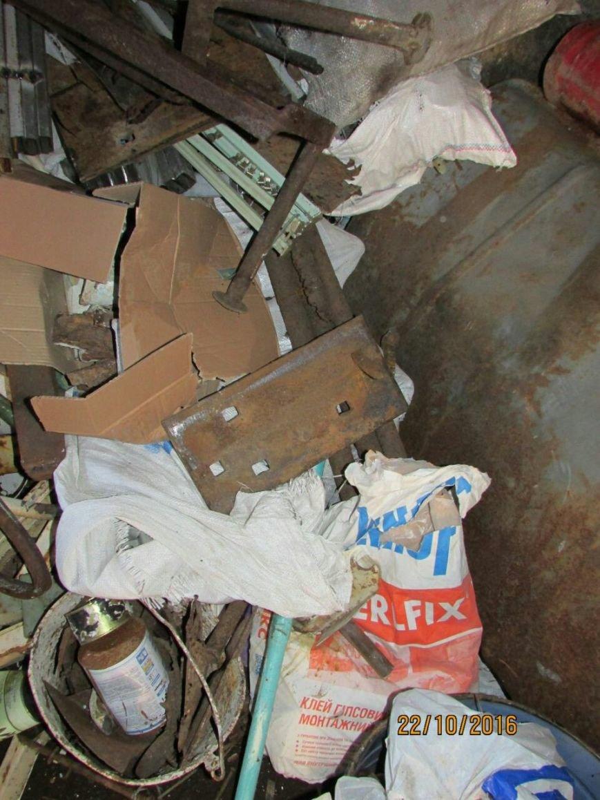 В подсобке бывшего кафе Каменского работал нелегальный пункт приема металлолома, фото-2
