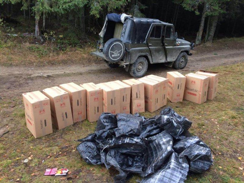 СБУ затримала на Буковині гігантську партію контрабандного тютюну (ФОТО), фото-1