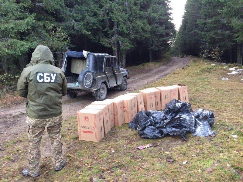 СБУ затримала на Буковині гігантську партію контрабандного тютюну (ФОТО), фото-2