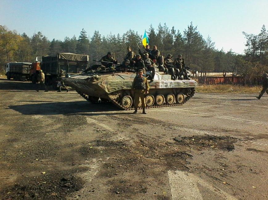 Комбат 15-го батальйону Олександр Паламарчук: «Кількість танків у ворога, можливо, прирівнюється до кількості танків, які знаходяться в Укр..., фото-4