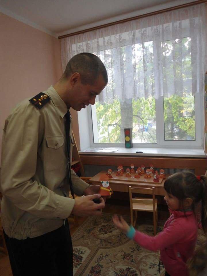 Спасатели провели профилактический урок в детском садике (фото), фото-1