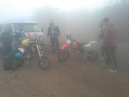 5 грибников и мотоциклист потерялись в тумане в крымских горах (ФОТО), фото-2