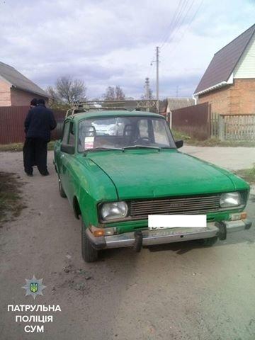 В Сумах задержали очередного пьяного водителя (ФОТО), фото-2