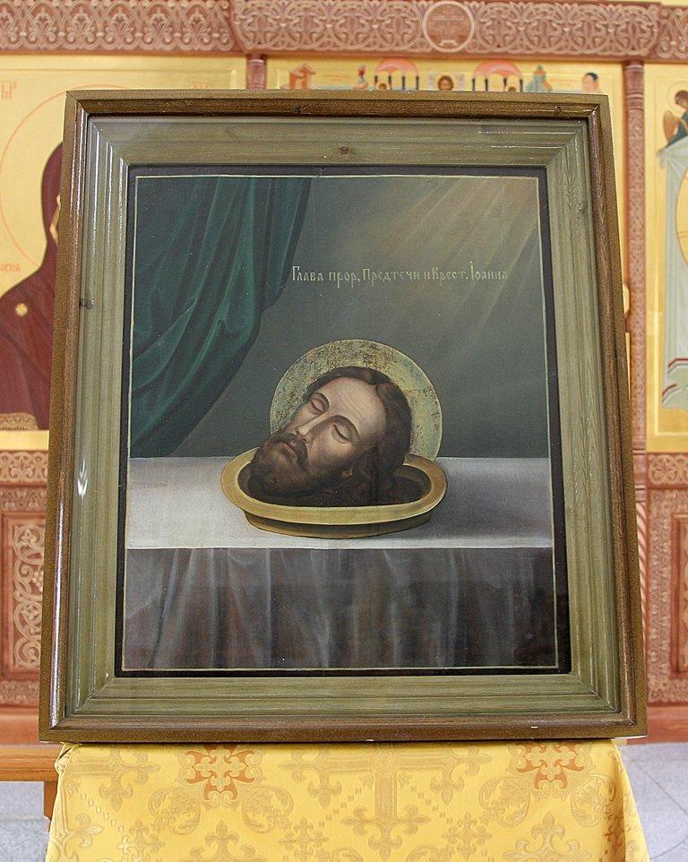 Старинная икона появилась в одном из храмов Южно-Сахалинска, фото-1