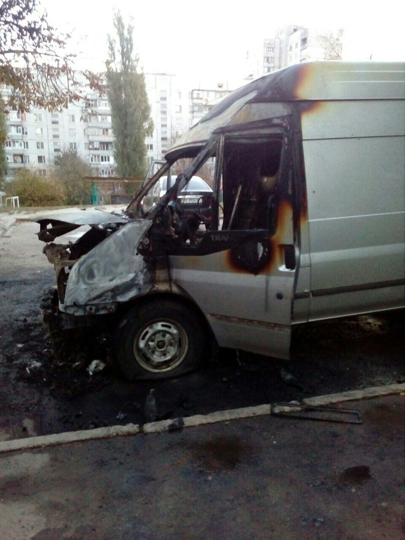 На Залютино подожгли два автомобиля (ФОТО), фото-1