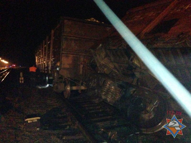 Ночью под Гродно перевернулся вагон со свеклой, фото-2