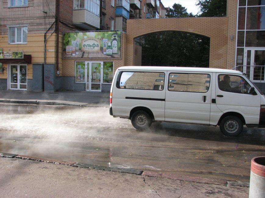 Проспект Победы залил кипяток (ФОТО), фото-5